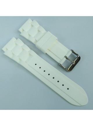 Ремешок для часов из каучука Condor SL.102.22 22 мм Белый (344067)