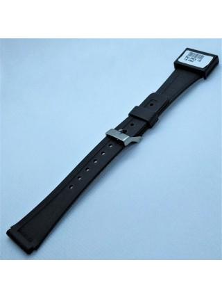Ремешок для часов из каучука Condor P53.18 18 мм Черный (308818)