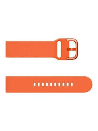 Ремешок силиконовый BeWatch New шириной 20 мм универсальный Оранжевый (1012307)