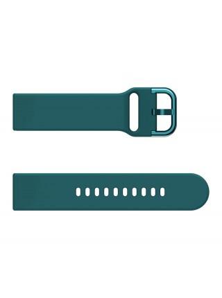 Ремешок силиконовый BeWatch New шириной 20 мм универсальный Темно-зеленый (1012316)