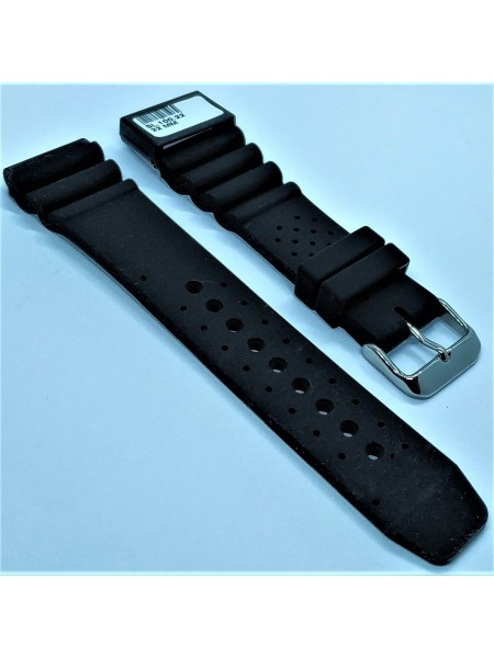 Ремешок для часов из каучука Condor SL.100.22 22 мм Черный (333055)