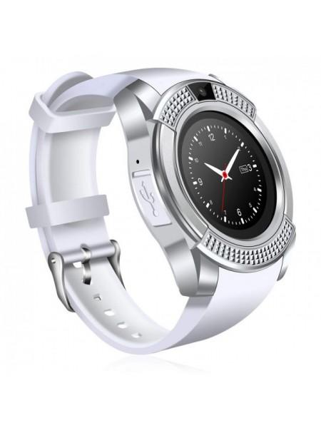 Часы Smart Watch Phone V8 Белые (461-01)