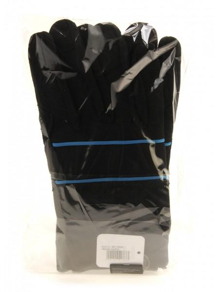 Термо перчатки мужские ALDI 7 черный-голубой R2-110235_01