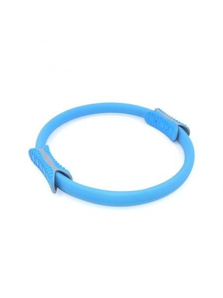 Эспандер кольцо для фитнеса и пилатеса Dobetters M1 Blue диаметр 38 см (4752-14154)