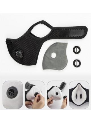 Сменный фильтр для защитной маски угольный KN95 / FFP2 RockBros (6060301)