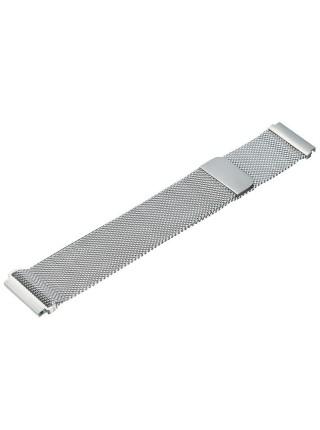 Ремешок миланская петля 20мм BeWatch стальной браслет Серебристый (1010205.u)