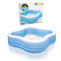 Детский надувной бассейн Intex Волна 57495 объем воды 1,215 л
