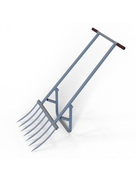 Чудо лопата землекоп пахарь рыхлитель крот САБ-Билдинг на 7 зубьев