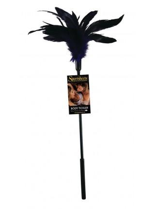 Щекоталка с петушиными перьями Sportsheets Starburst Tickler Фиолетовая (SO1307)