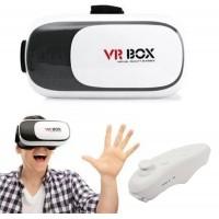 3D Очки виртуальной реальности с пультом управления для телефона VRBOX 2.0 ВиАр шлем