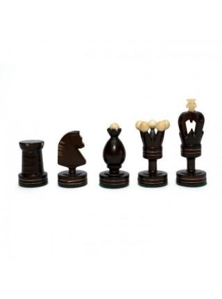 Шахматы классические Королеские инкрустированные Madon Krolewskie Inkrustowane с-136а с чехлом сумкой