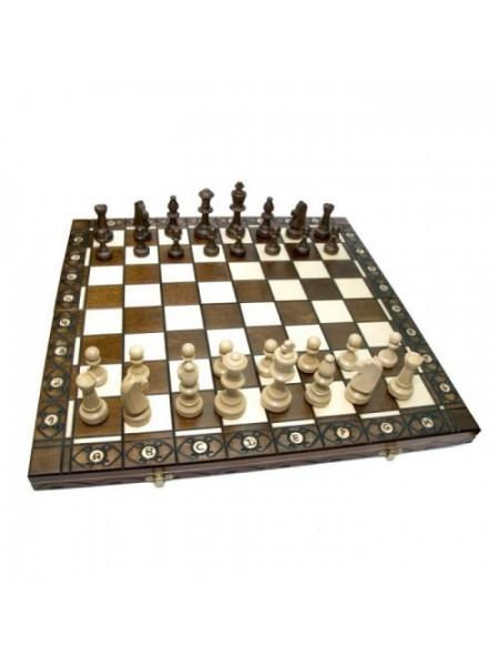 Шахматы резные дерево Консул Madon Consul Madon с-135 с чехлом сумкой (11r_c-135)