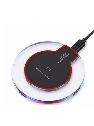 Зарядное устройство FANTASY K9 Беспроводная QI зарядка 10W Черная (SUN0165)