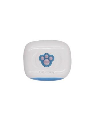GPS трекер для собак FUTUREWAY FP03 Влагостойкий GPS ошейник для собак Розовый (SUN0475)