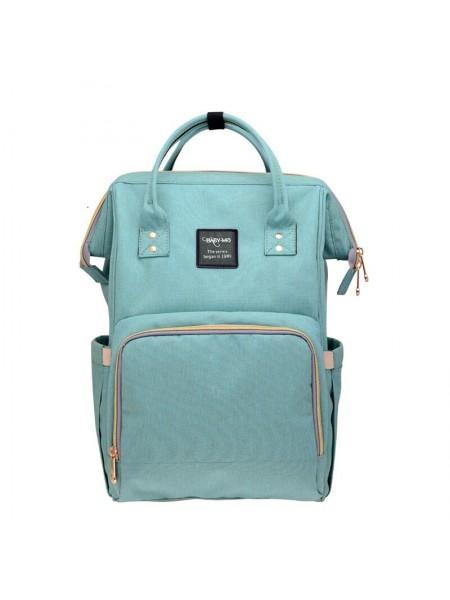 Сумка-рюкзак SUNROZ Mummy Bag мультифункциональный органайзер для мамы Зеленый (SUN0623)