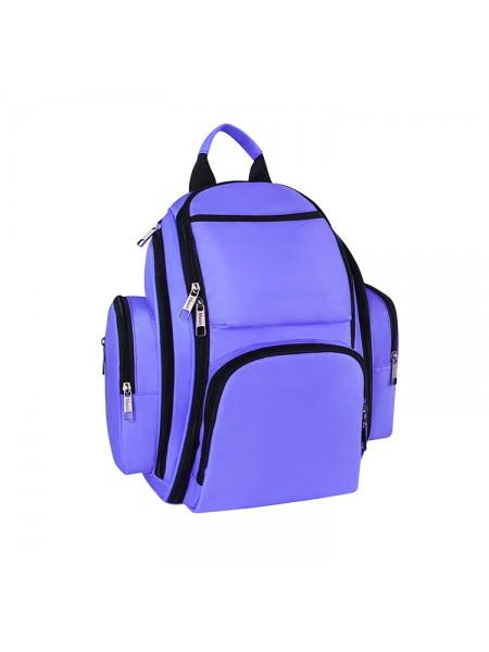 Сумка-рюкзак SUNROZ Mummy Bag мультифункциональный органайзер для мамы Фиолетовый (SUN0624)
