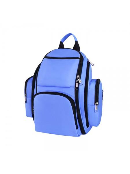 Сумка-рюкзак SUNROZ Mummy Bag мультифункциональный органайзер для мамы Синий (SUN0626)
