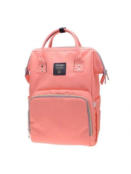 Сумка-рюкзак SUNROZ Mummy Bag мультифункциональный органайзер для мамы Розовый (SUN0620)
