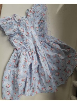 Детское платье-трансформер SUNROZ MiniSize со съемной юбочкой Лавандовый (SUN0849)