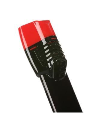 Трубка Seagard Easybreath для полнолицевой маски для плавания, 24 см S/M Черно-Красный (SUN1019)