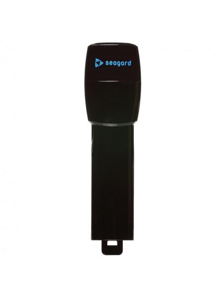 Трубка Seagard Easybreath для полнолицевой маски для плавания, 24 см S/M Черный (SUN1025)