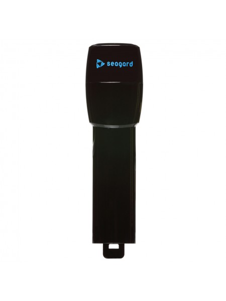Трубка Seagard Easybreath для полнолицевой маски для плавания L/XL 24 см Черный (SUN1024)