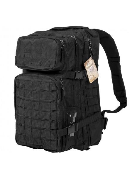 Тактический военный рюкзак Hinterhölt Jäger (Хинтерхёльт Ягер) 40 л Черный (SUN80190)