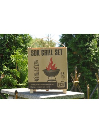 Устройство для барбекю и мангалов SDK GRILL SET набор топлива для гриля (SUN3908)