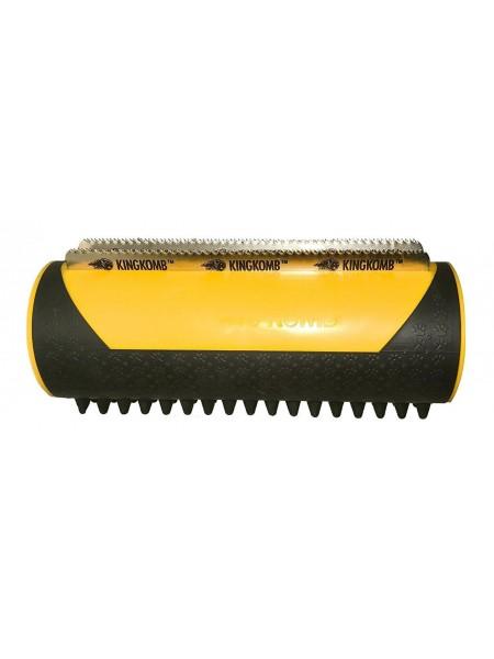 Прибор для груминга KING KOMB расческа для удаления лишней шерсти животных Желтый (SUN4029)