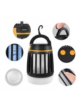 Фонарь для кемпинга SUNROZ Electronic Mosquito Killer Lamp уничтожитель комаров 3 в 1 Черный (SUN4558)