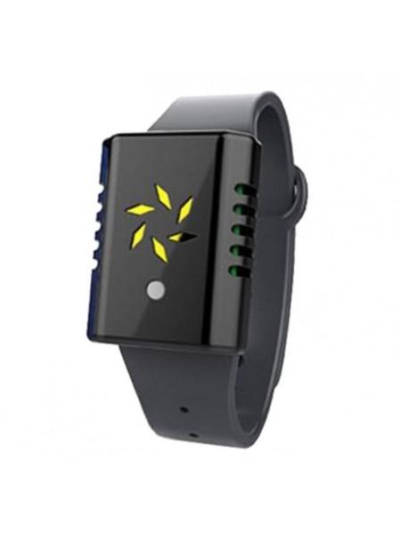 Электронный антимоскитными браслет SUNROZ Ultrasonic Mosquito Repellent Черный (SUN4593)