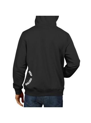Худи (кенгуру) DROPPARTNER Merch Premium Classic Hooded Sweat с принтом XL / 52 Черное (SUN_DP014XL)