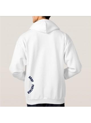 Худи (кенгуру) DROPPARTNER Merch Premium Classic Hooded Sweat с принтом XXL / 54 Белое (SUN_DP015XXL)