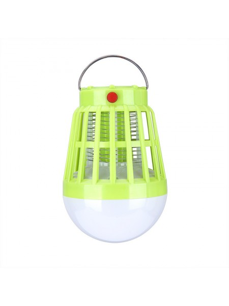 Фонарь для кемпинга SUNROZ Travel Light уничтожитель комаров 2 в 1 с солнечной батареей Желтый (SUN7271)