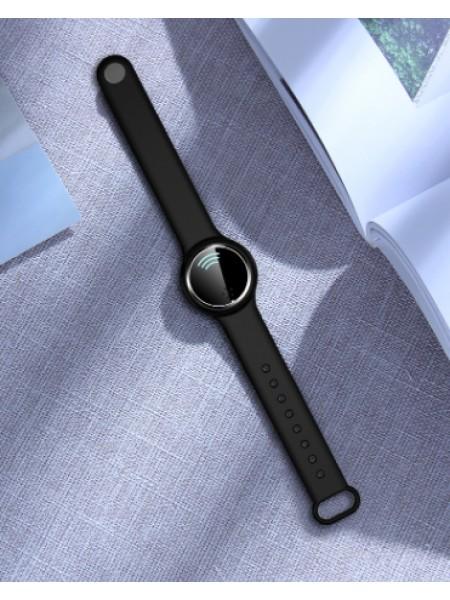 Электронный антимоскитными браслет SUNROZ Q9 Ultrasonic Mosquito Repellent Черный (SUN6831)
